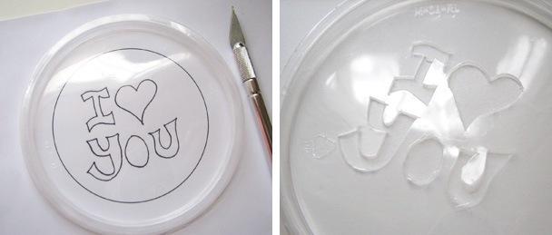 Сделать трафарет надписи своими руками