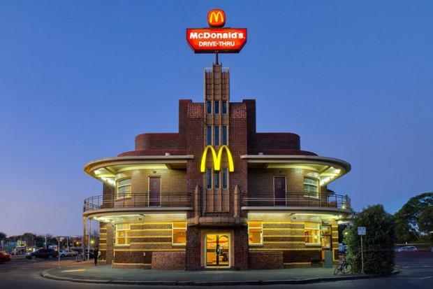 129 Шундый төрле McDonald's рестораны
