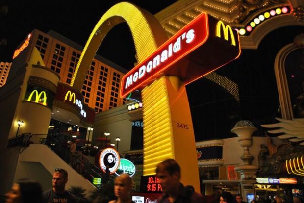 421 Шундый төрле McDonald's рестораны
