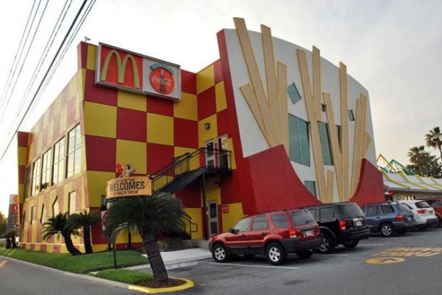 510 Шундый төрле McDonald's рестораны
