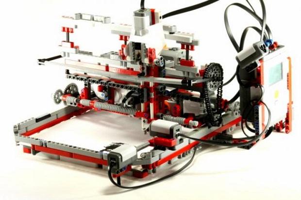 13  Lego дан ясалган принтер