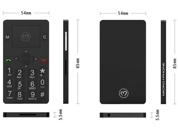 22 Micro Phone — кеп кечкенә кесә телефоны