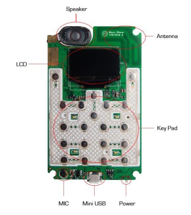 32 Micro Phone — кеп кечкенә кесә телефоны