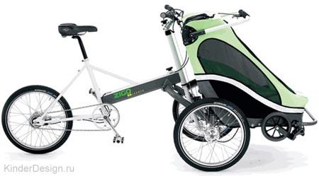 37 Коляска велосипед